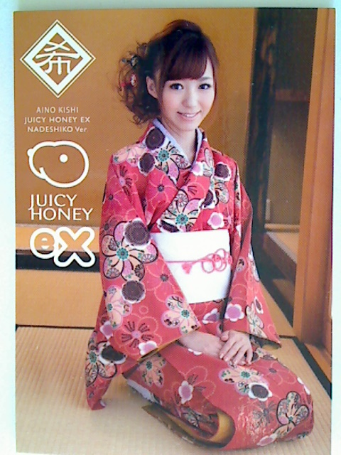 Aino Kishi 2012 Juicy Honey EX Nadeshiko Card #1