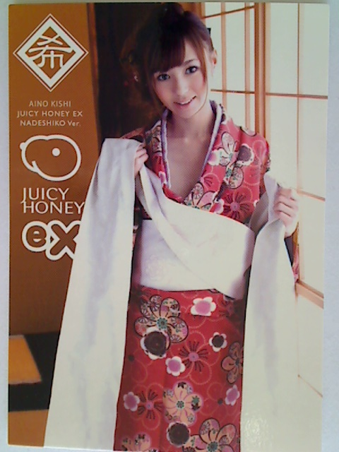 Aino Kishi 2012 Juicy Honey EX Nadeshiko Card #5