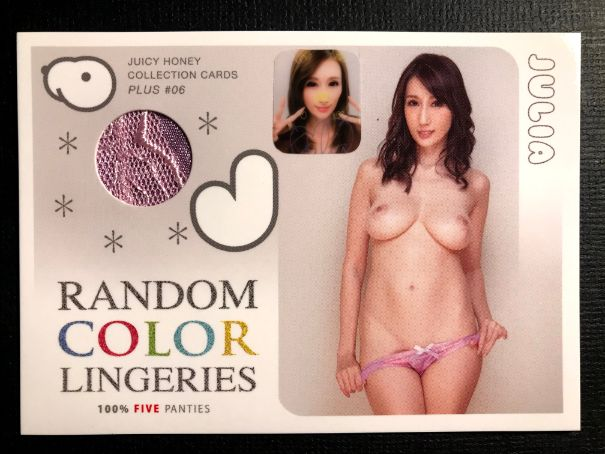 Julia 2020 JH Plus #6 * Random Purple Panties * Purikura 1/1