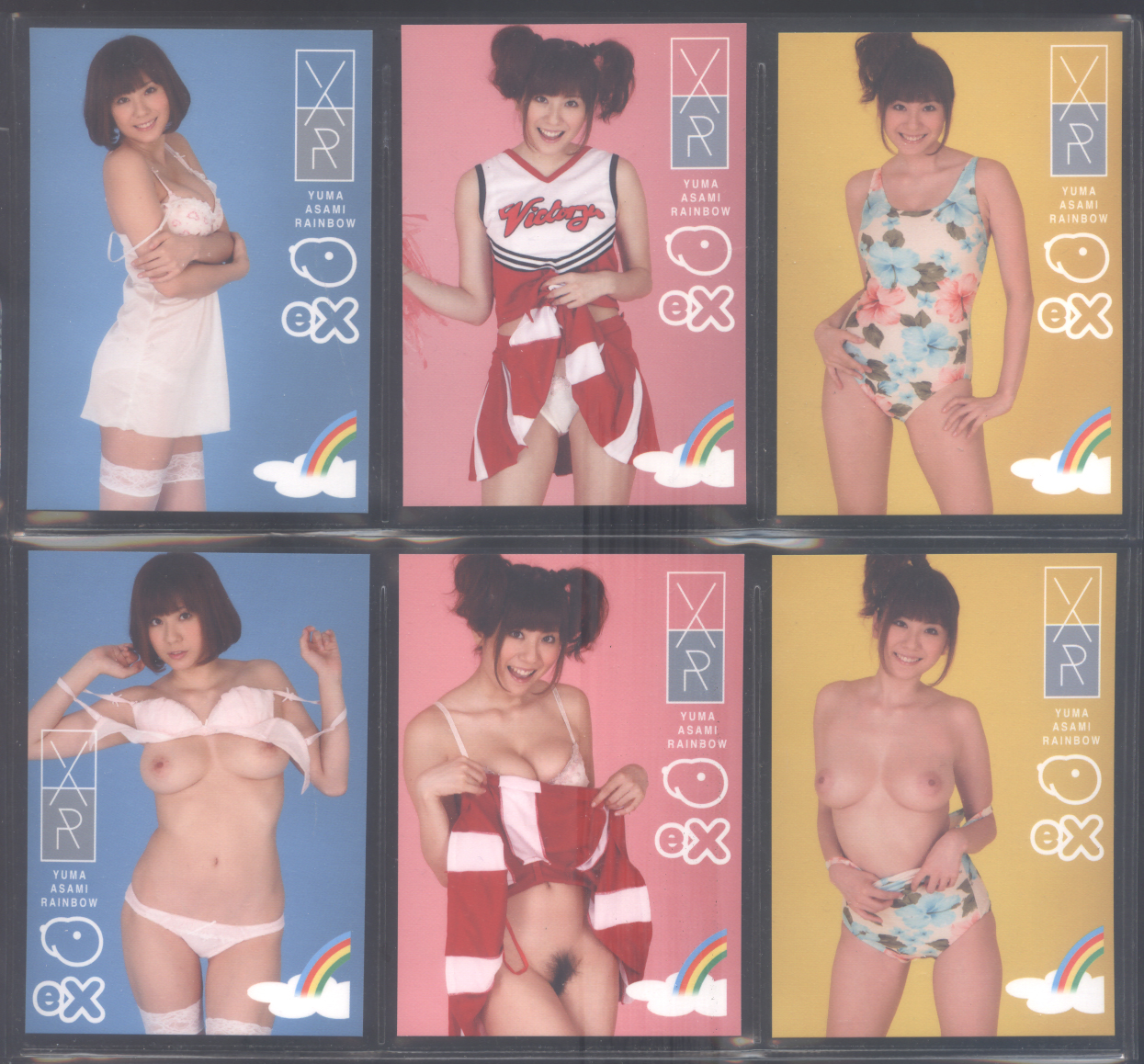 2011 Juicy Honey EX Rainbow Yuma Asami * 51-card Set