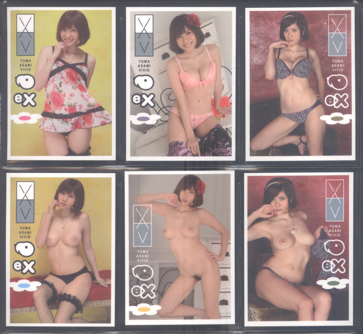 2011 Juicy Honey EX Vivid Yuma Asami * 51-card Set